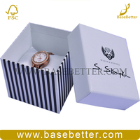 Flat Craft Paper Gift Box For