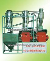 Domestic high efficient dual mill flour milling machine with price