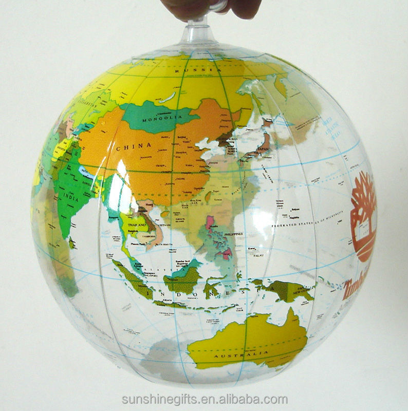 inflatable earth globe