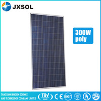 China supplier Tuv Ce Ul Mcs Ohsas18001 pv module/solar panel 300w poly For Home Solar Energy System