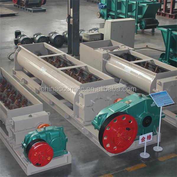 block maker and paver for brick making in brick production line
