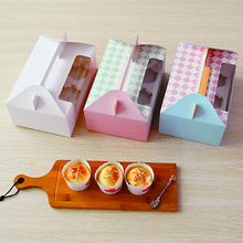 Alibaba China recycled cake packaging box with window