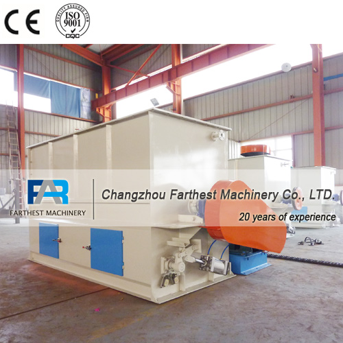 Agricultural Machinery Livestock Feed Ribbon Mixer
