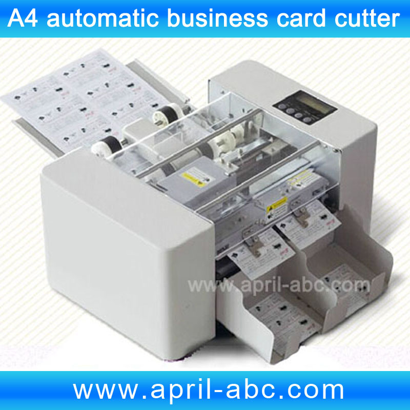 A4V Multi-functional Automatic Business Card Cutter