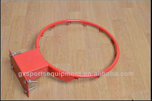 Thicker solid steel basketball rim R45cm