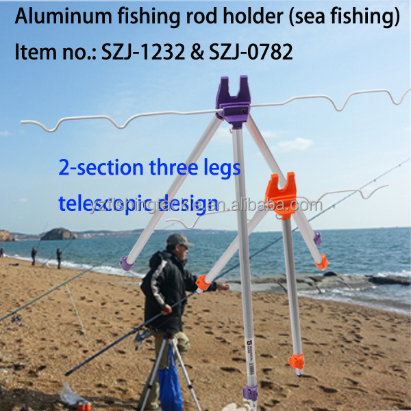 rod hold for sea fishing surf rod