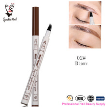 Best Selling Products Music Flower 3 Colors Eye Brow Pencil Fine Sketch Waterproof Tattoo Eyebrow Pen
