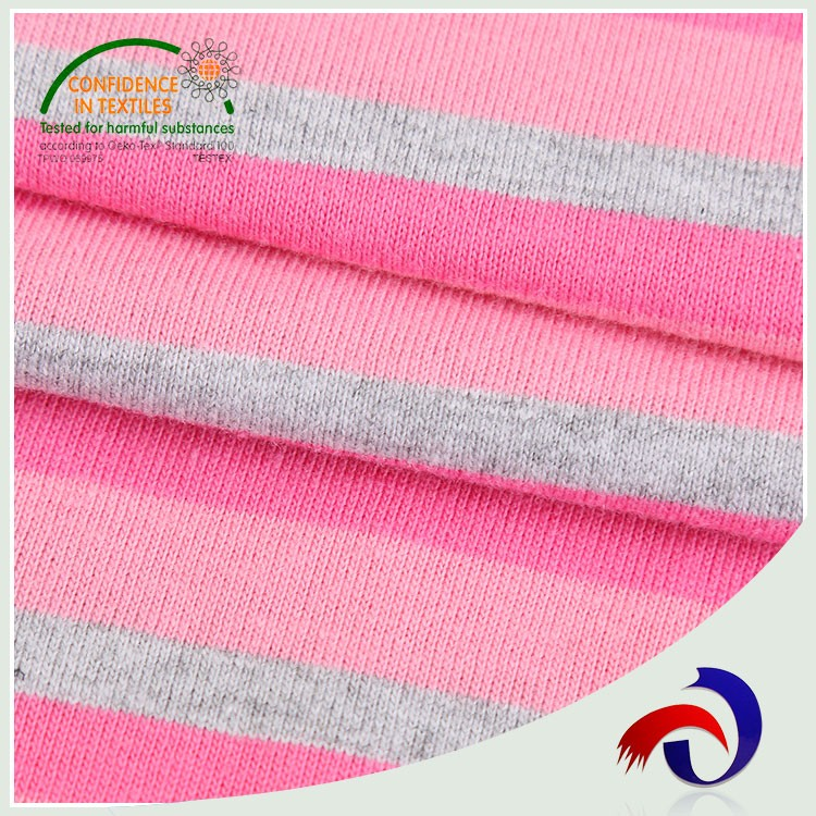 Hot selling knitted 100 cotton italian shirt fabric with low price