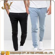 Men's Jogger Pant Wholesale Black &Blue Pants Skinny Fitting Bottoms for Men