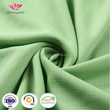 100% Polyester Breathable Knitted Bird Eye Mesh Jersey Fabric for Sports Wear