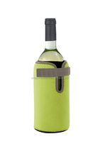 neoprene wine cooling collar holder sleeve bag