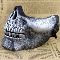 Wholesale cheap skull half face mask