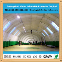 high quality inflatable winter tent marquee, hot welding inflatable tent winter use
