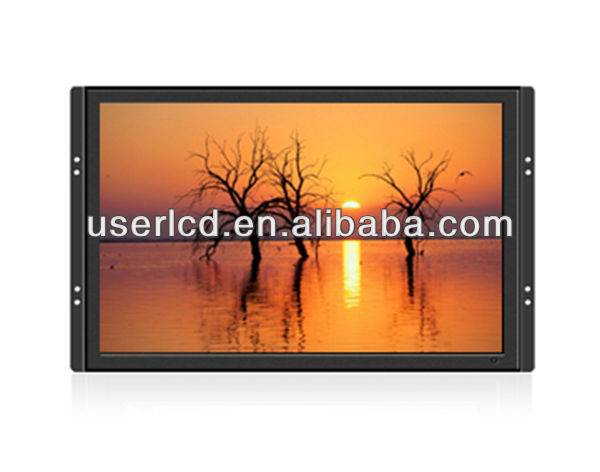 Open frame LCD display for casino