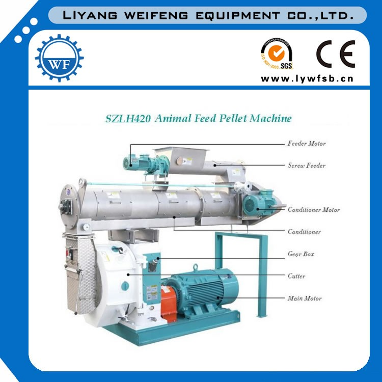 Turn Key 1-30t/h Poultry Livestock Feed Production Line