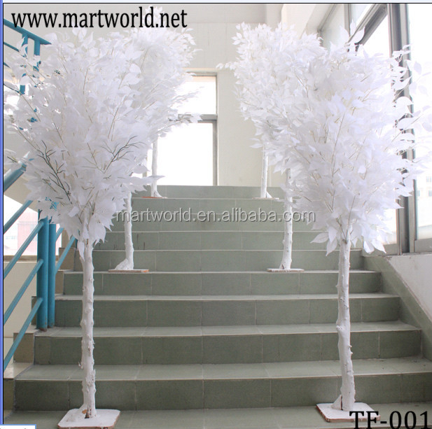 Table Centerpiece Artificial Tree,White Wedding Centerpieces Tree ...