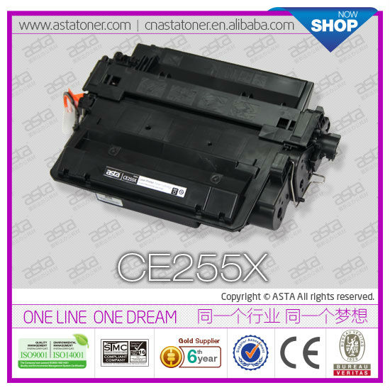 Printer Supplies CE255X Compatible Toner Cartridge 55X For HP Printer
