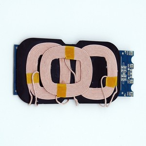 Customized QI Wireless Charger Prototype Circuit Board PCBA with 3Coil