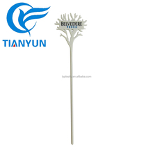China wholesale custom plastic cocktail picks wine swizzle stick for promotion