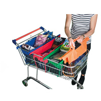 Hot Selling Popular Shopping Trolley Organiser Shopping Bag In Cart