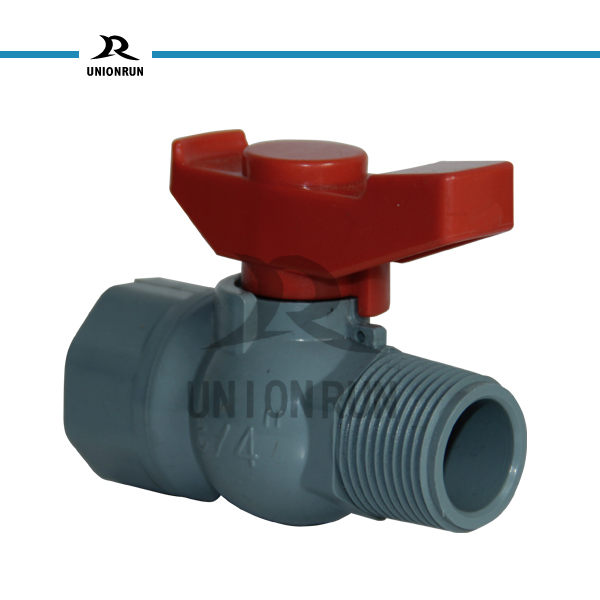 High Quality And Low Price Ball Vale Thread Plastic PVC Octagonal Ball Valve