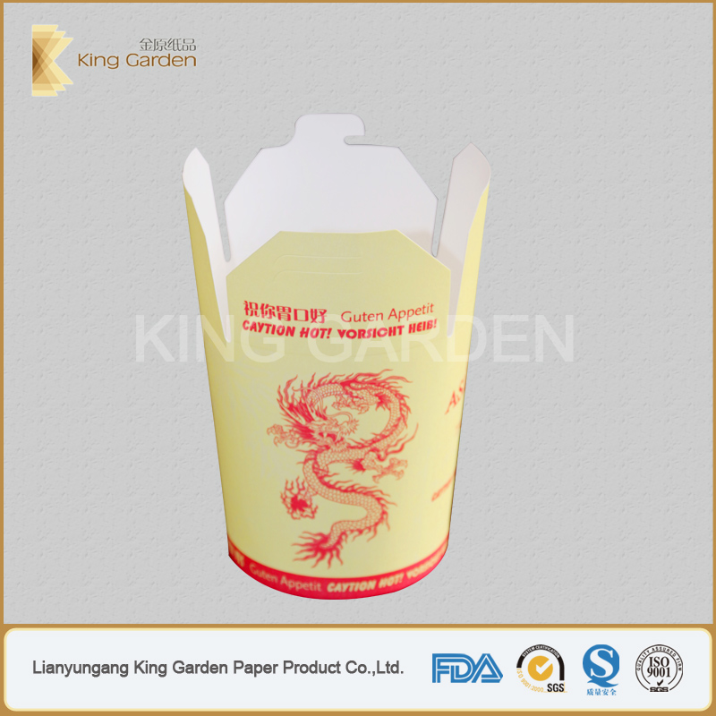 1 6 colors printing takeout food to go customized round boxes buy