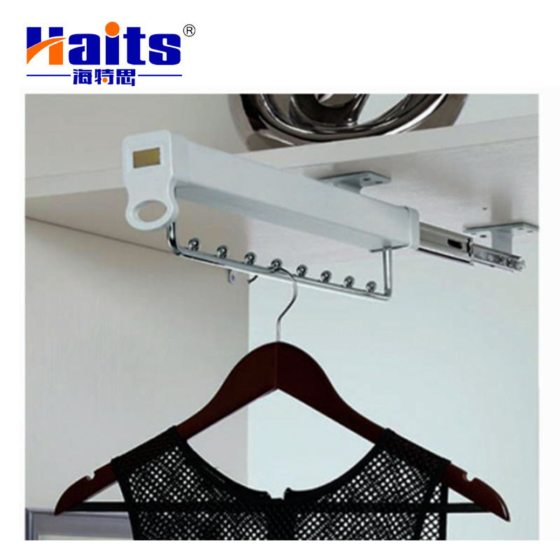 Closet <strong>Hardware</strong> Top mounted Multi-function Silent Sliding Closet Organizer Clothes Hanger