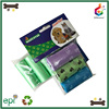 Pet product dog foot printed eco recyclable pet poop bag