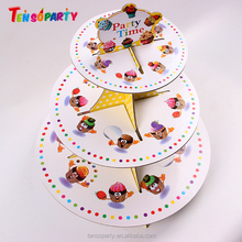 Hot Sale Paper Cupcake Stands , Paper Cake Stand , Paper Cake Decoration For Wedding Decoration