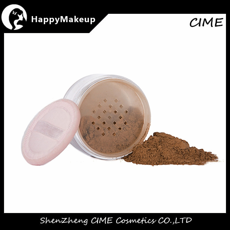 Makeup Face Loose Powder Foundation Powder private label With Low MOQ