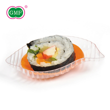 China factory food appetizer snack plastic plate disposable for OEM