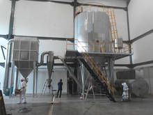 LPG liquid spray dryer for starch
