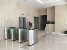 electronic flap barrier gate/ glass turnstiles