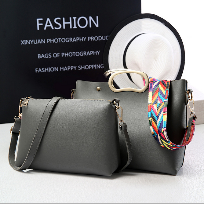 2016 new style contracted single strap shoulder bag trendy women side bags ladies big bag
