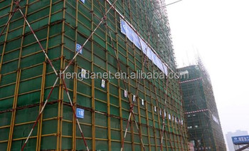 construction net/ safety net for outside building security