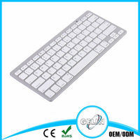 ultra slim aluminum bluetooth keyboard For Apple/Android/Windows