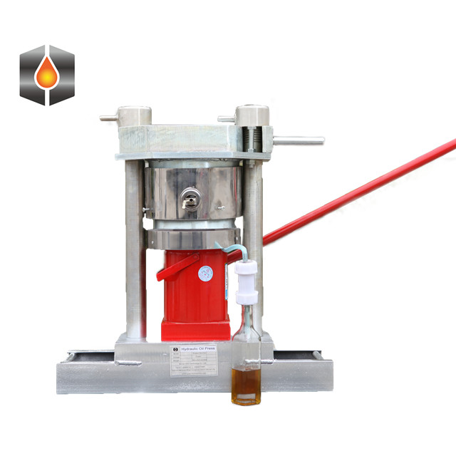 manual mini hydraulic press/hydraulic coconut oil press machine