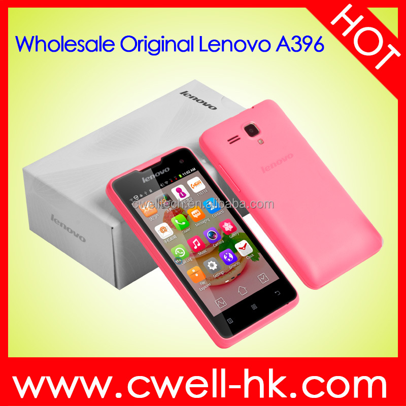 Cheapest Lenovo A396 Quad Core Best 4 inch Android Smartphone WCDMA Android Mobile Phone -Black/White/Pink