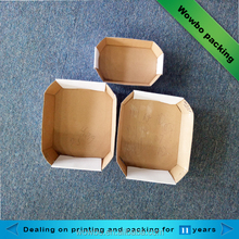 Customized white cardboard corrugated fruits tomato packaging tray box