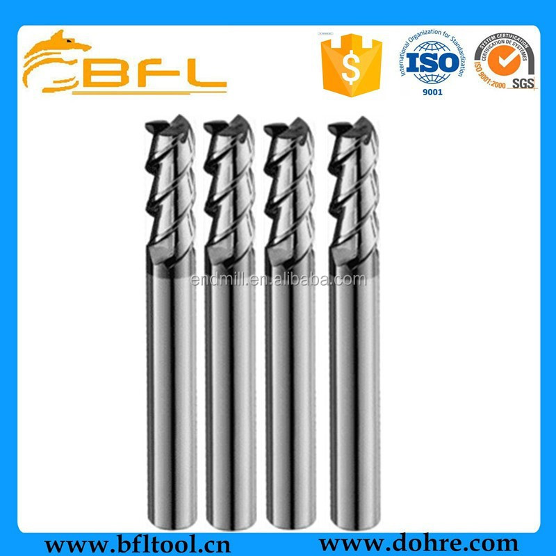 BFL Ultra Micro Grain Carbide End Mills,Square End Mills,Flat Milling Cutter