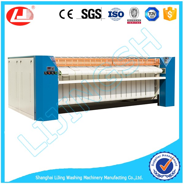 Shanghai lijing 2017 High Speed and Low Price 1600mm Flat-work ironing machine