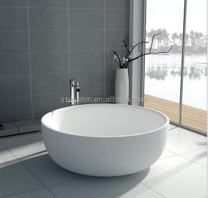 artificial cast stone freestanding stone resin bath,solid surface bath tubs ,