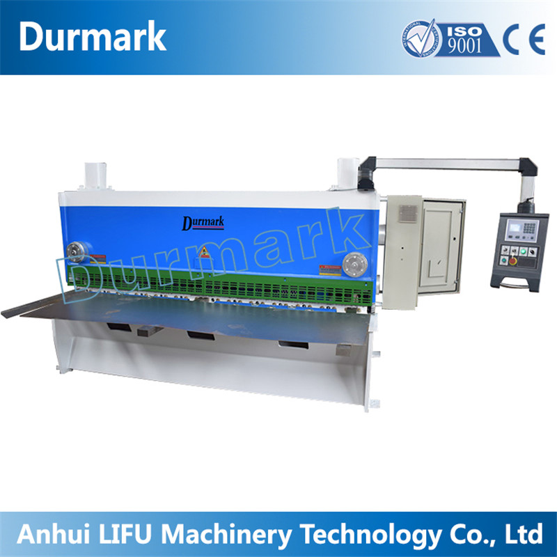 QC11K-12x4000 aluminum workshop guillotine shearing machine for production