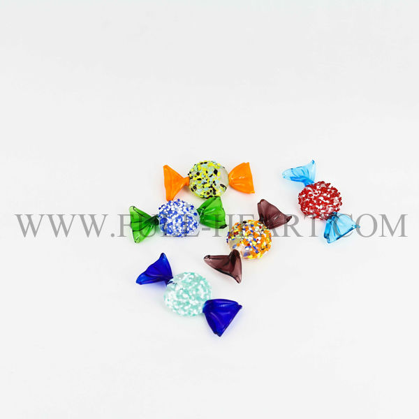 2015 new china Christmas decoration promotion murano glasses cute candies home dacoration