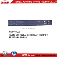 Toyota corolla 07-12 black rear bumper support manufacturer products