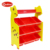 2017 new cartoon design toy storage shelf MDF wood giraffe toy shelf with bins