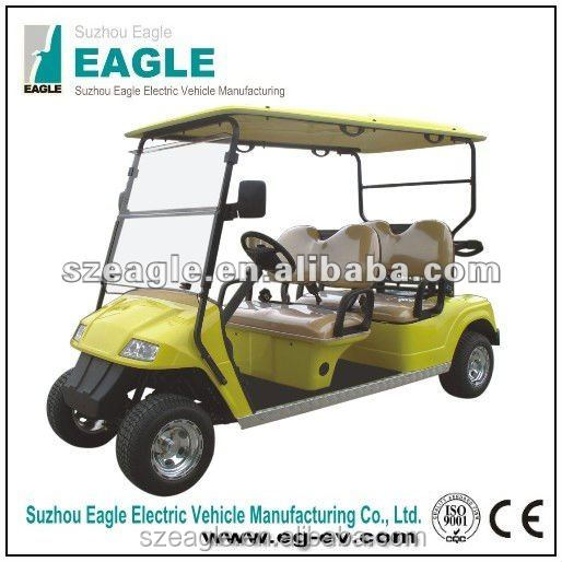 4 seats new condition electric fast golf carts for sale, china supplier