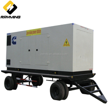 China Assembled 400kW Mobile Silent Type Volvo Penta Diesel Generator Sets/Gensets