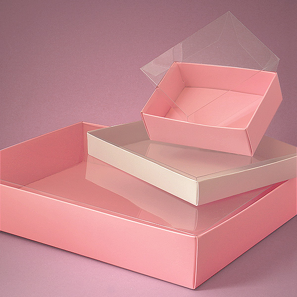 Custom Decorative Plastic Candy Packaging Plastic Chocolate Boxes Wholesale