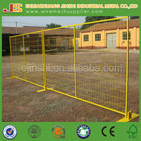 6ftx10ft Powder Coated Temporary Fence Panel for Construction Site